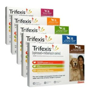 Trifexis® (spinosad + milbemycin oxime) for dogs best price