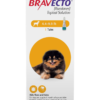 Bravecto Topical Solution for Dogs, 4.4-9.9 lbs, 1 treatment (Yellow Box)