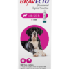 Bravecto Topical Solution for Dogs, 88-123 lbs, 1 treatment (Pink Box)