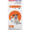 Bravecto Topical Solution for Dogs, 9.9-22 lbs, 1 treatment (Orange Box)