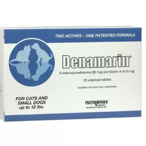 Nutramax Denamarin Tablets for Cats & Small Dogs